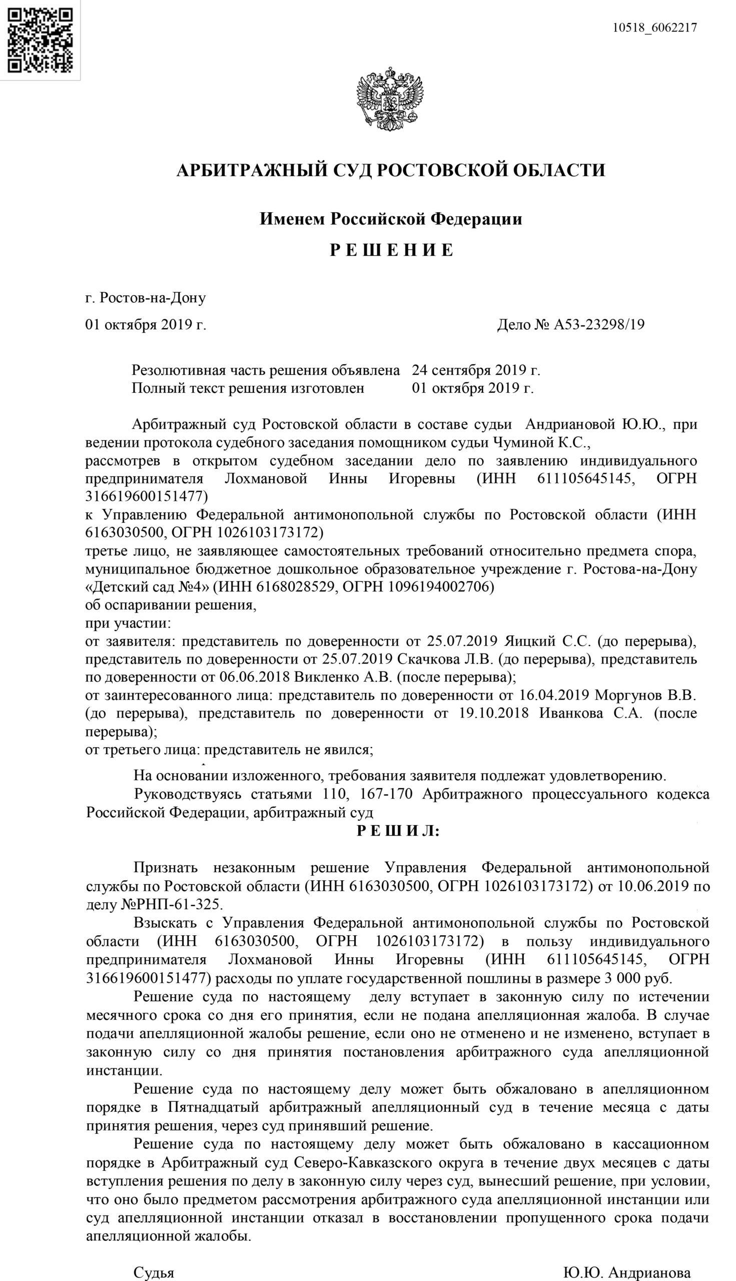 2019 Ростов-на-дону ИП Лохманова